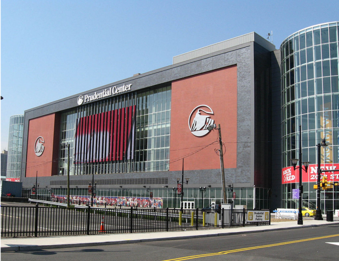 4. The Prudential Center, Newark