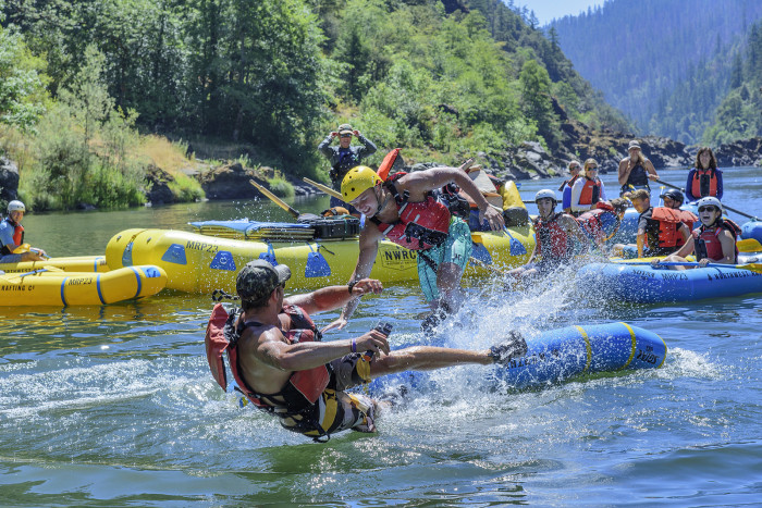 4) Raft The Rogue River