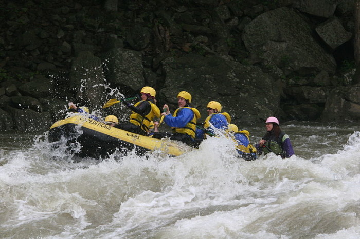 8. Go whitewater rafting