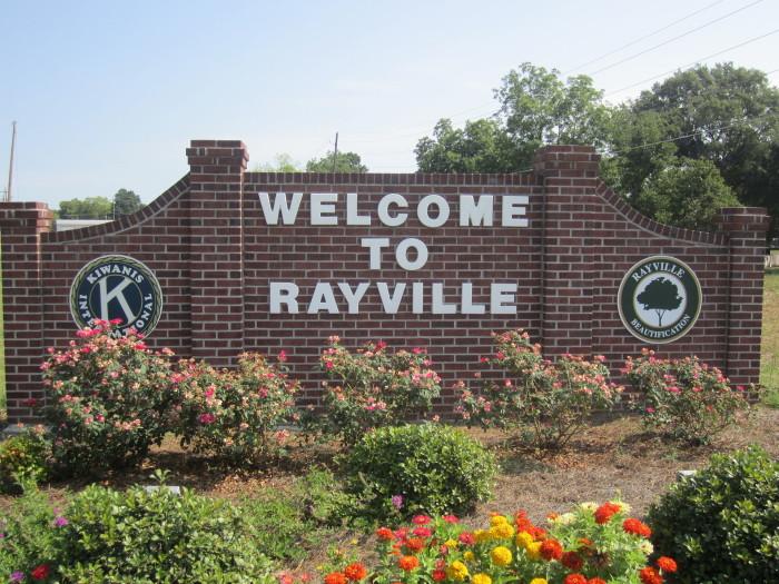 3) Rayville, Richland Parish