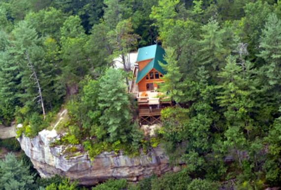 9) Red River Gorge Yurt and Cabins