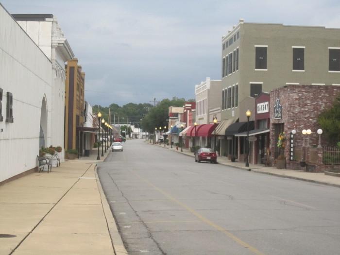 9) Winnsboro, Franklin Parish