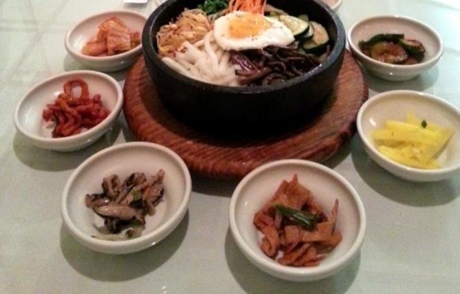 3) Riverside Korean Food