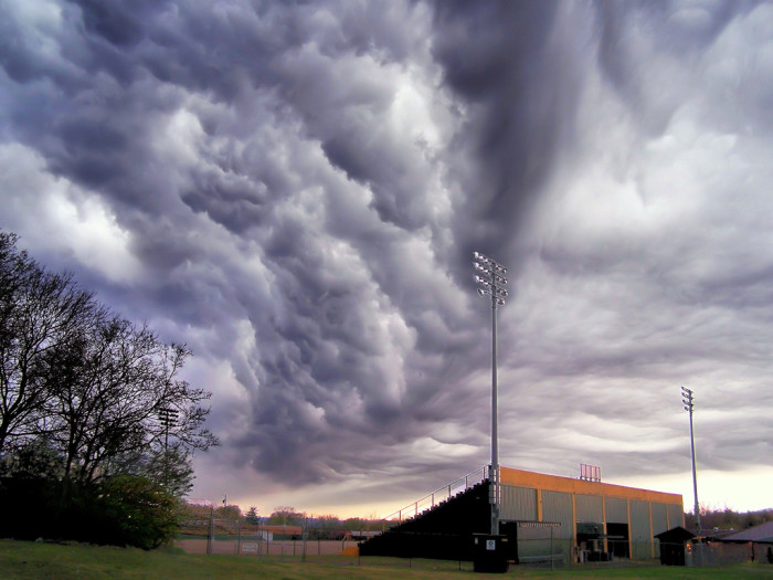 1) There's a storm a brewin'