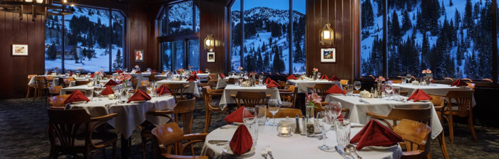 1 The Rustler Lodge Dining Room Little Cottonwood Canyon