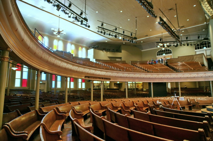 3) Tour the Ryman