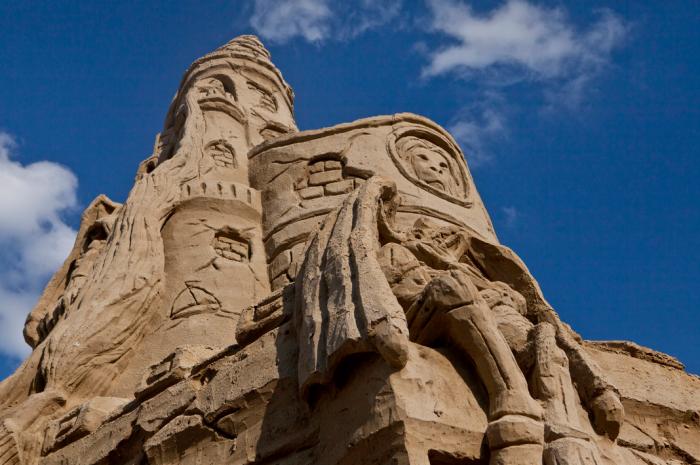 10. Giant Sand Castle, Point Pleasant