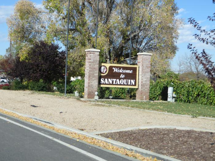 1) Santaquin: Population 10,934