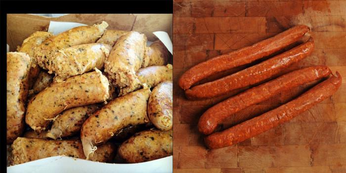 12) Boudin & Andouille Sausage