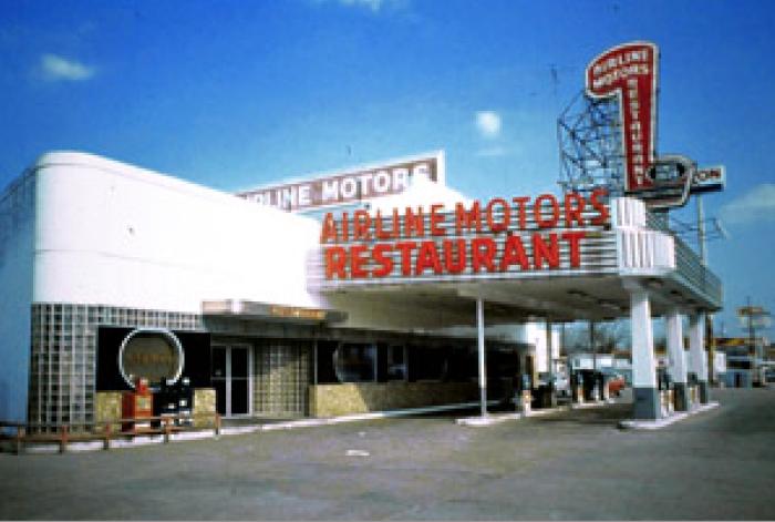 7) Airline Motors Restaurant – Monster's Ball