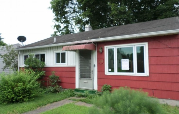 1. This 748 square foot single family home in Pottstown is  beginning in auction at $10,000. It was built in 1952.
