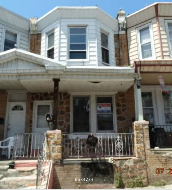 3. This row home in Kensington, Philadelphia is selling for $9,000. It needs work, but is still a great deal.