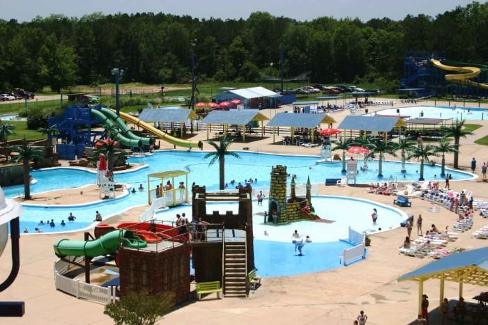 8) Splash Kingdom Water Park – Shreveport