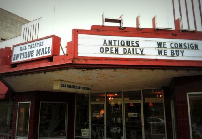 3) Snider's Hill Theatre Antique Mall, Hillsboro