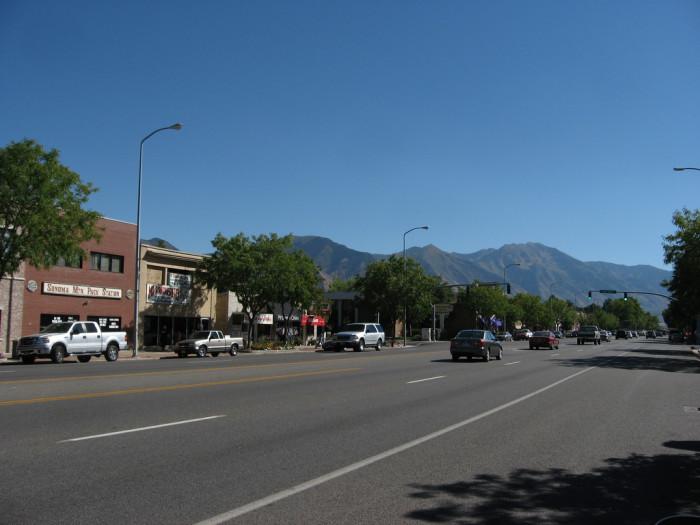 8) Spanish Fork: Population 36,141