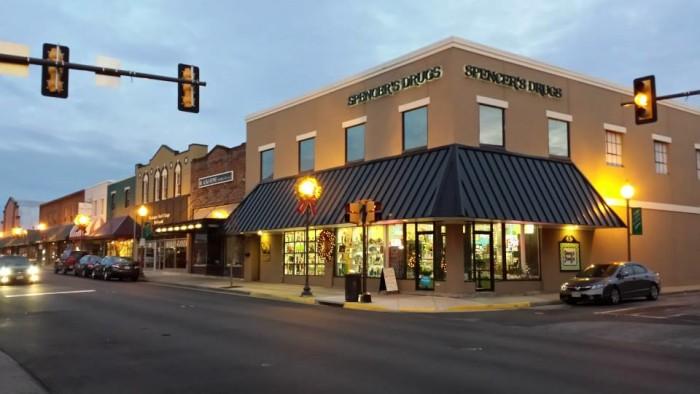 7. Spencer's Drug Store, Blackstone