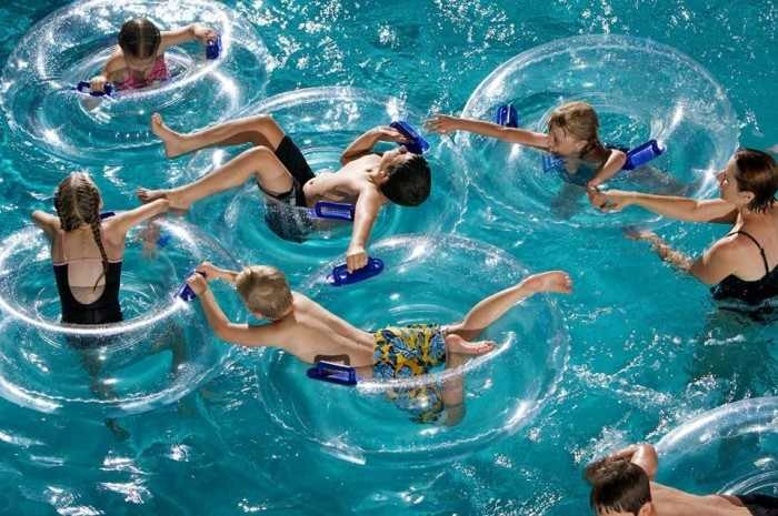3) Take the kids to a water park...