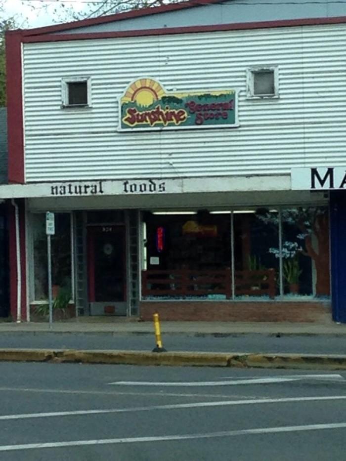 5) Sunshine General Store, Cottage Grove