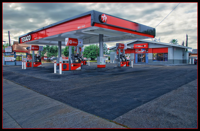 9. Gas Stations
