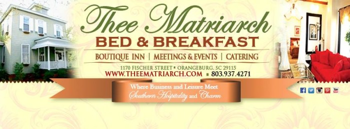 7. Thee Matriarch Bed and Breakfast, Orangeburg