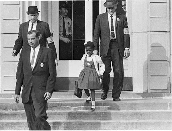 November 14th, 1960 – Ruby Bridges integrates New Orleans schools.