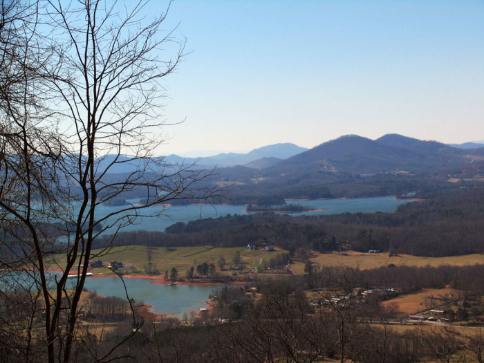 9. Hayesville, Clay County