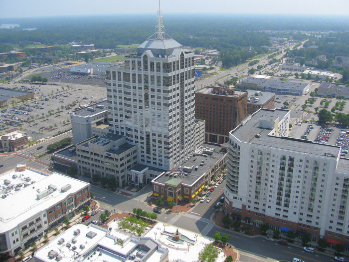 9. Virginia Beach (27th nationally among cities with 200,000 + residents)
