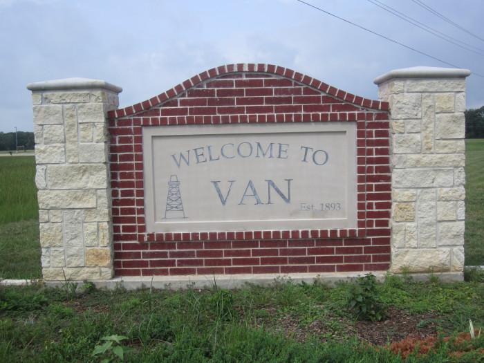 10) Van