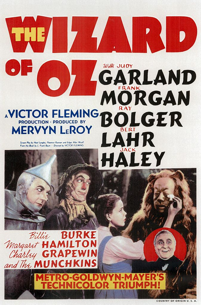 """10.) We won't laugh at your """"Wizard of Oz"""" references."""