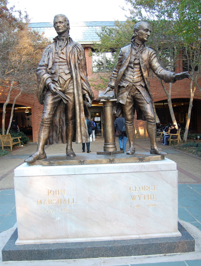 13. The fIrst formal law school program was started at William & Mary in 1779.