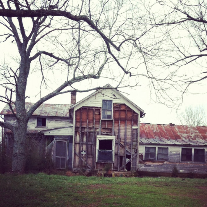 1) The face of the house torn off  makes this Winchester home insanely scary.