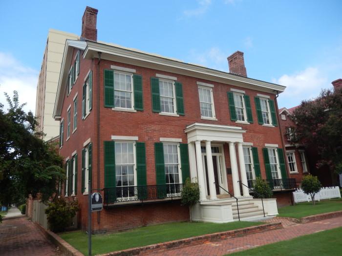 6. Boyhood Home of President Woodrow Wilson