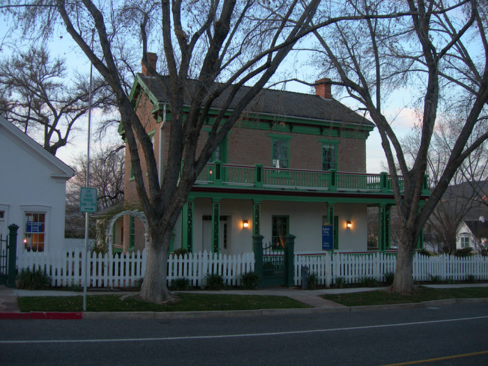 10) Brigham Young's Winter Home, St. George