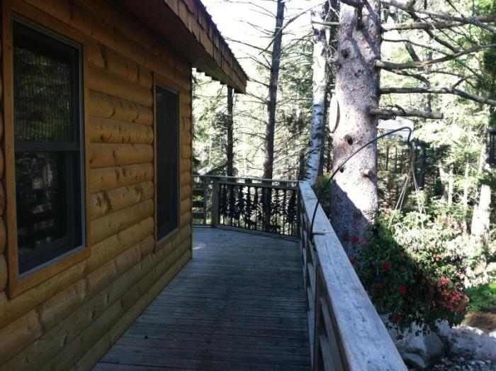 """4. """"Eleanor"""" Rental Cabin in Shevlin."""