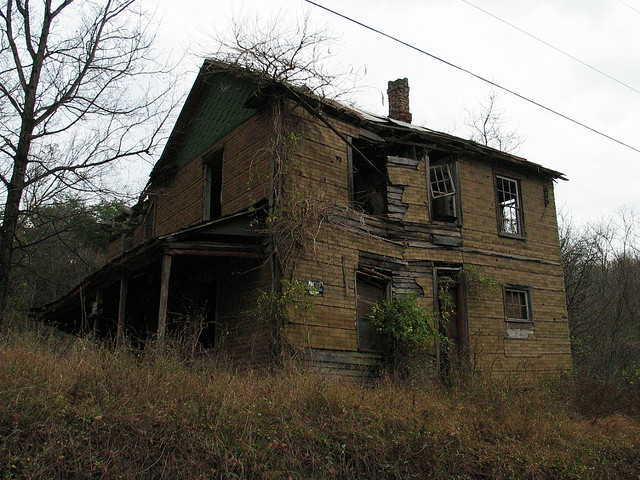 4. This house that's located somewhere in West Virginia