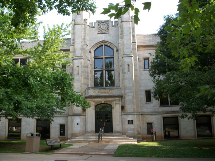 17. University of Arkansas Agriculture Building