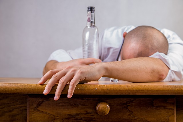 2. Never show up drunk