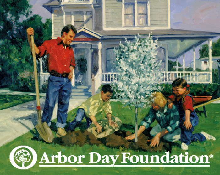 First to Celebrate Arbor Day
