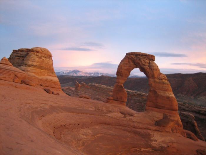 5) Arches National Park
