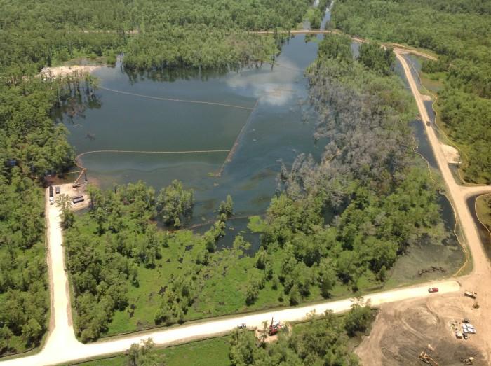 3) Bayou Corne Sinkhole