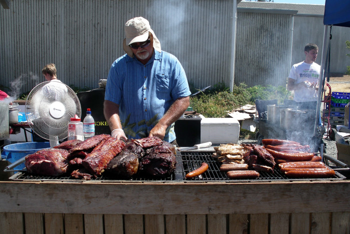 6. Throw a BBQ party.