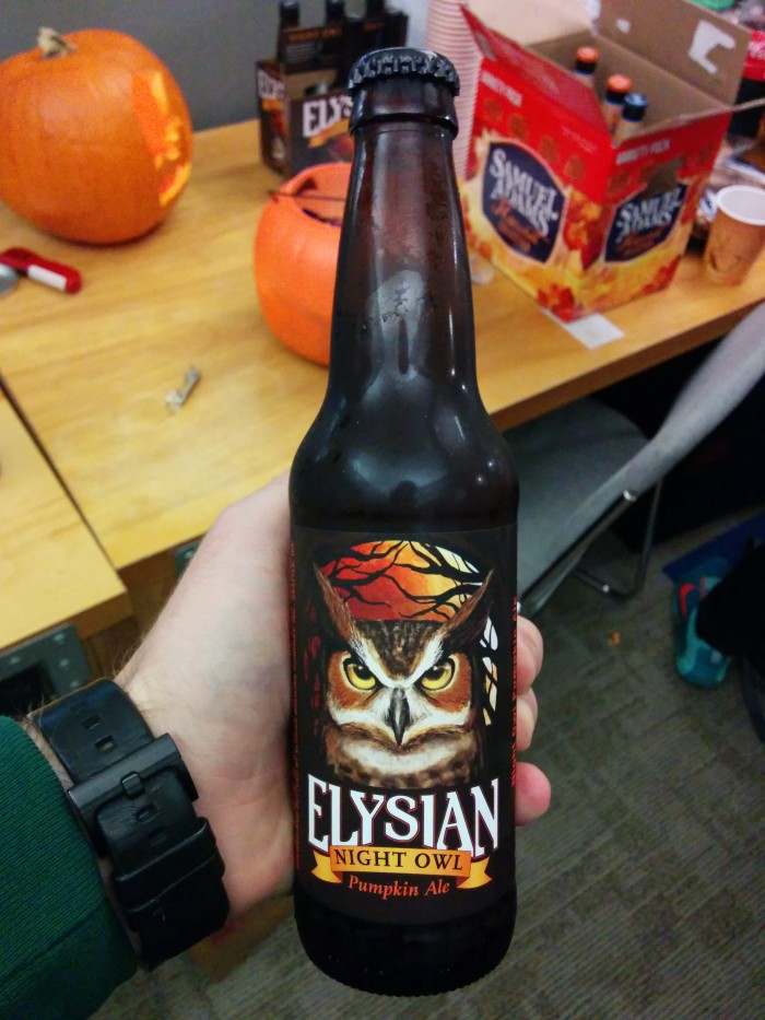 9. ...and seasonal beers start showing up on the shelves at stores!