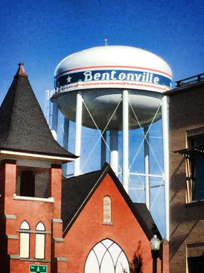 11. Bentonville