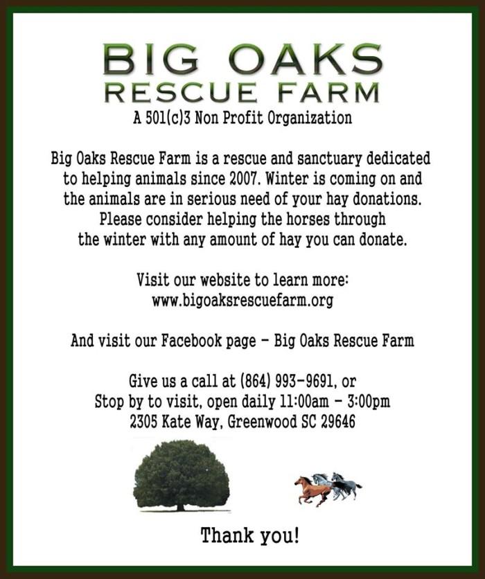 7. Big Oaks Rescue Farm