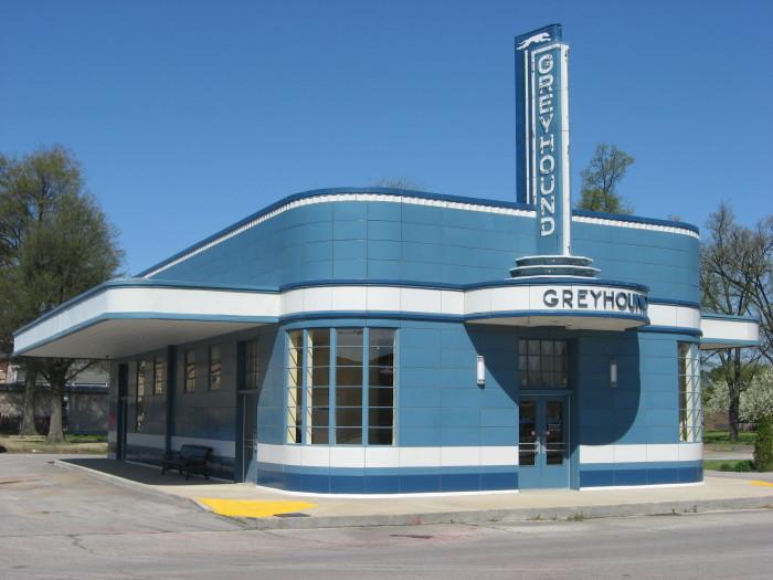 14. Blytheville Greyhound Bus Station