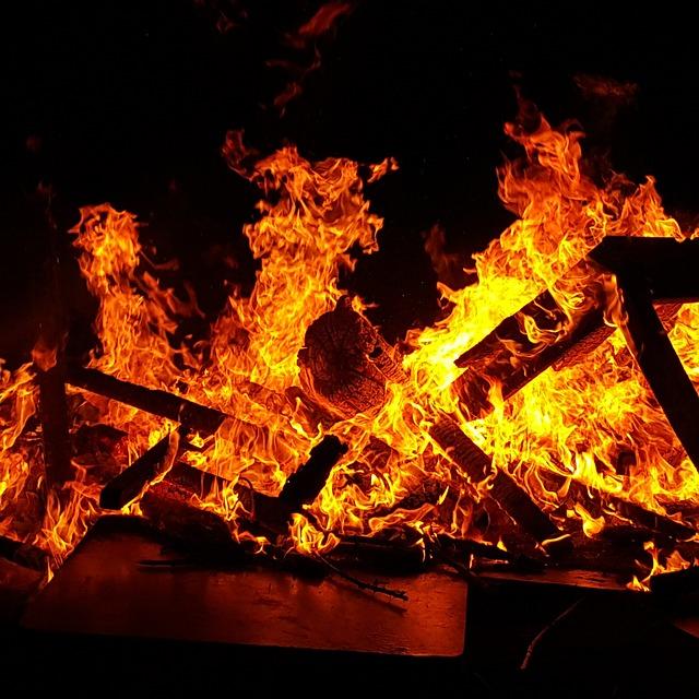 11. If it burns…. Toss it in the bonfire!