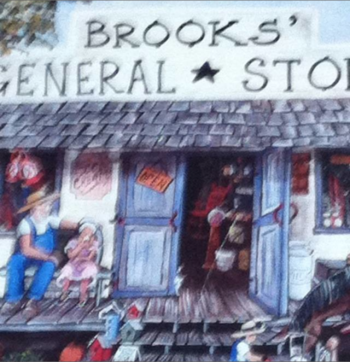 4) Brook's General Store, Mount Hermon