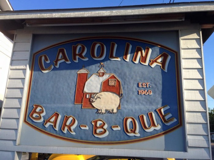 6. Carolina Bar-B-Que, New Ellenton