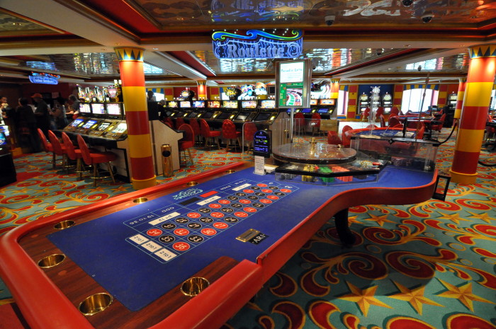 5. You could spend your day at the arcade, casino, or bingo hall!