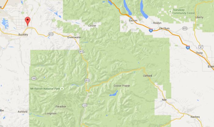 1. Chinook Pass